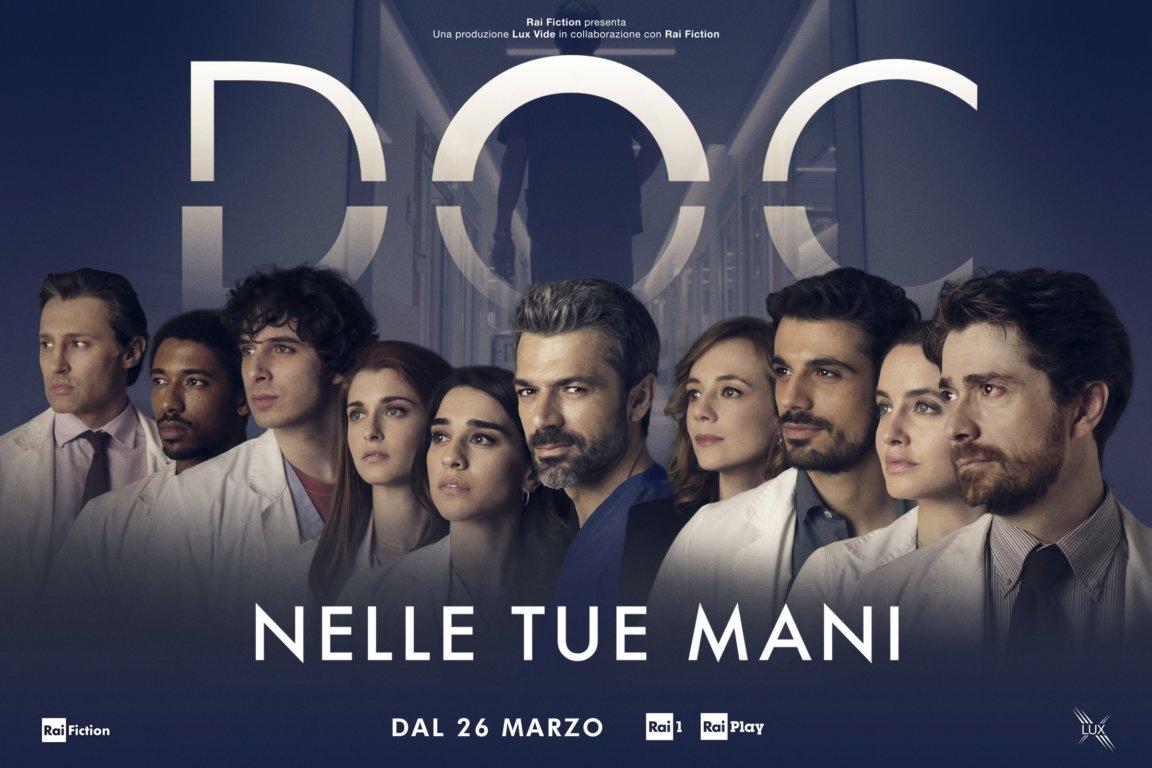 """immagine contenuto """"Doc–Nelle tue mani"""":la nuova fiction Lux Vide al debutto il 26 marzo"""